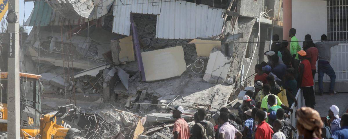 Haiti 2021 Earthquake Disaster
